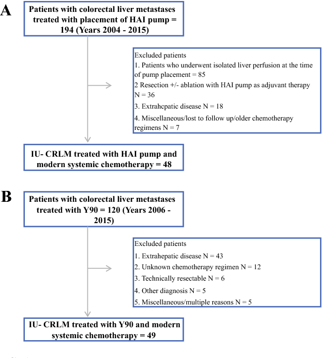 Effectiveness Of Hepatic Artery Infusion Hai Versus Selective Internal Radiation Therapy Y90 For Pretreated Isolated Unresectable Colorectal Liver Metastases Iu Crclm Semantic Scholar
