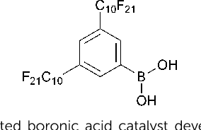 PDF] Catalytic amide formation from non-activated carboxylic