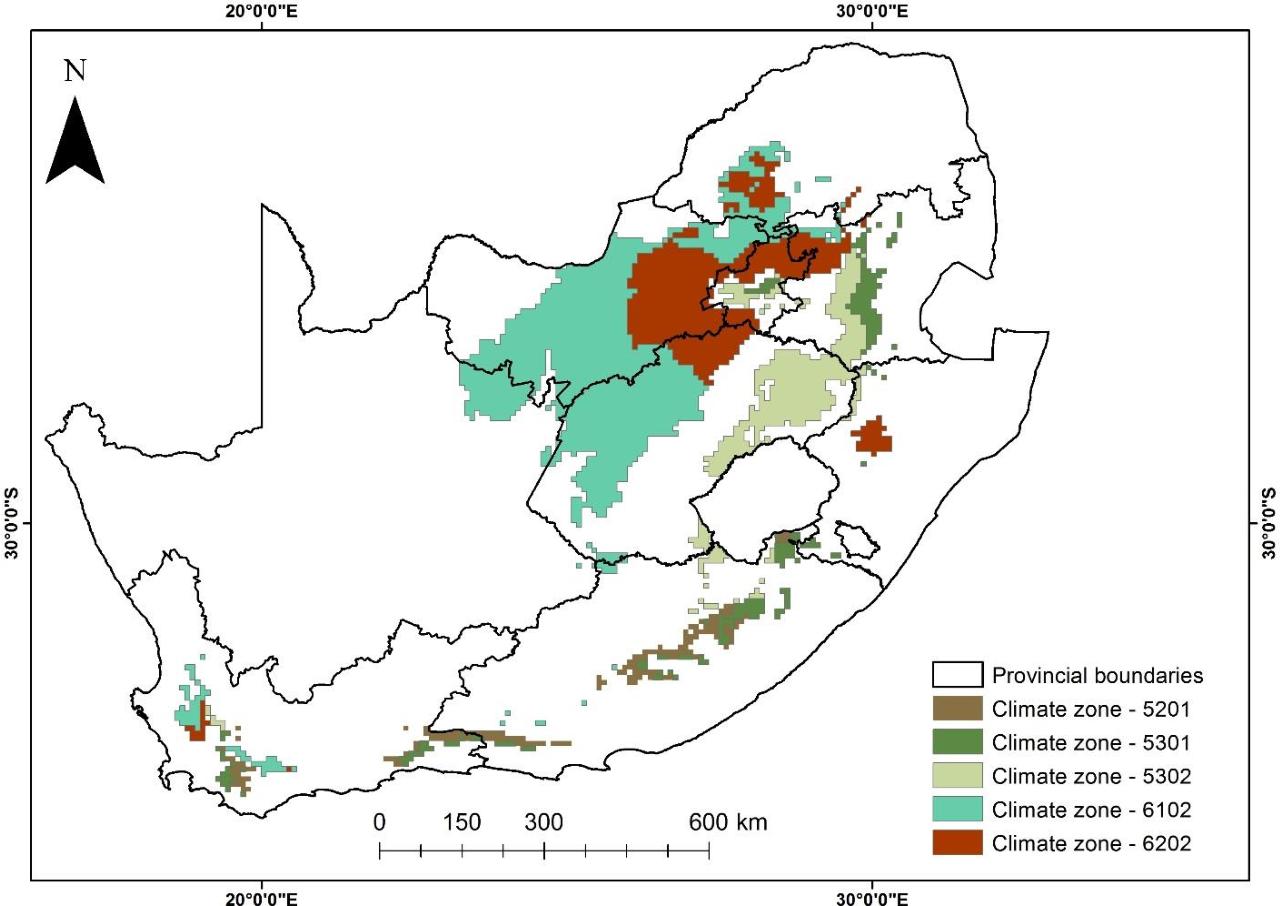 Figure 4.1 from Quantifying yield gaps for rain fed maize (Zea