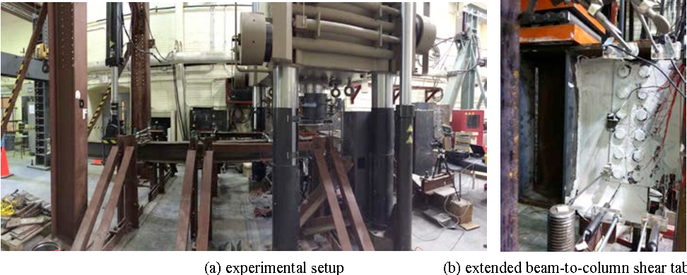 FULL SCALE TESTING OF EXTENDED BEAM-TO-COLUMN AND BEAMTO- GIRDER ...