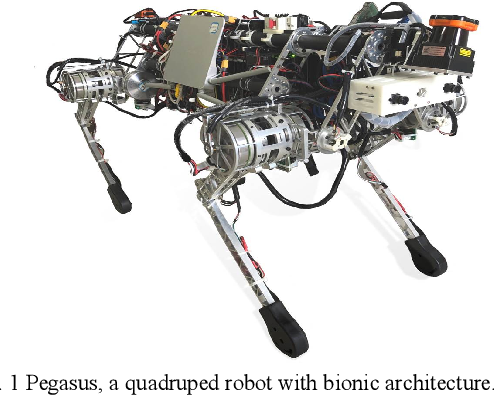 Bionic Architecture Design And Robust Rough Terrain Locomotion For A High Payload Quadrupedal Robot Semantic Scholar