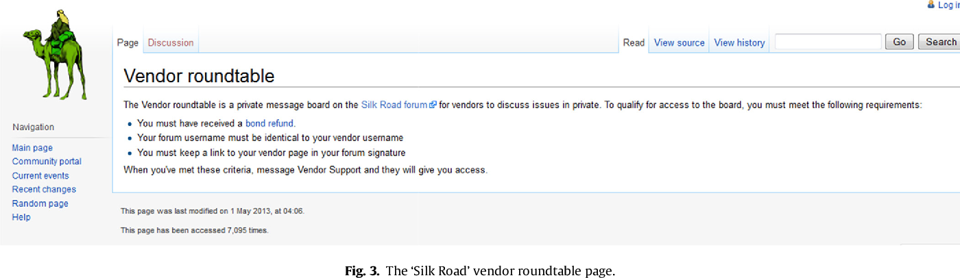 Responsible vendors, intelligent consumers: Silk Road, the