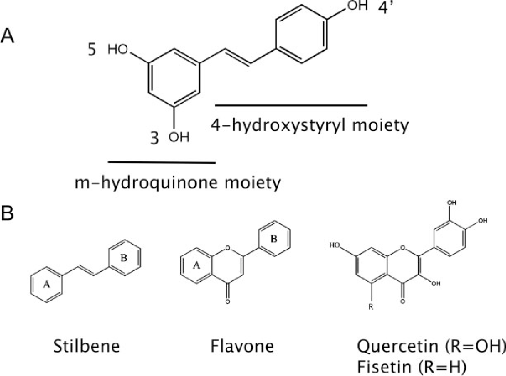 Figure 1 From Resveratrol One Molecule Many Targets Semantic