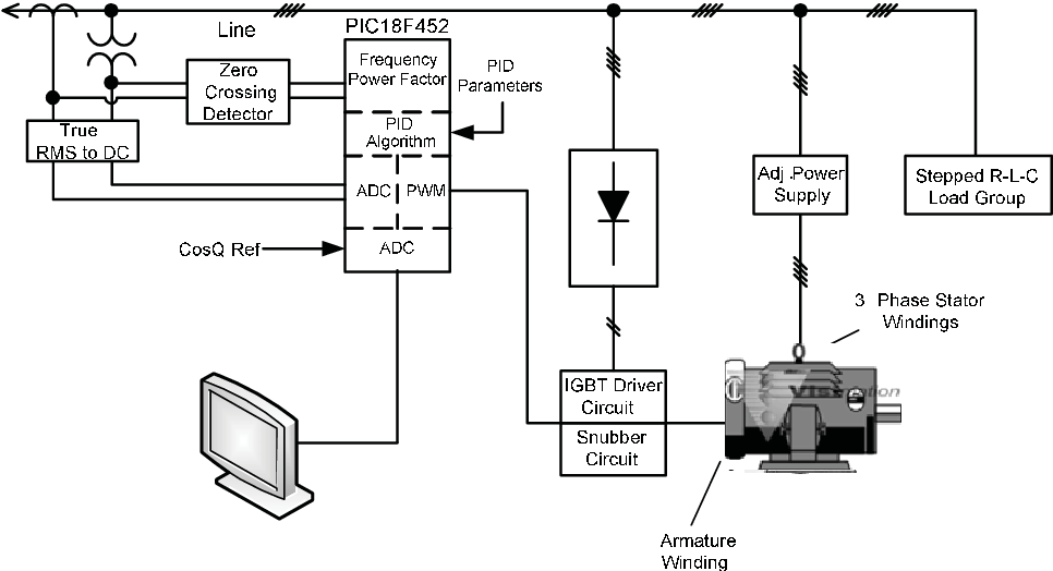 Phase Synchronous Motor Schematic Diagram on