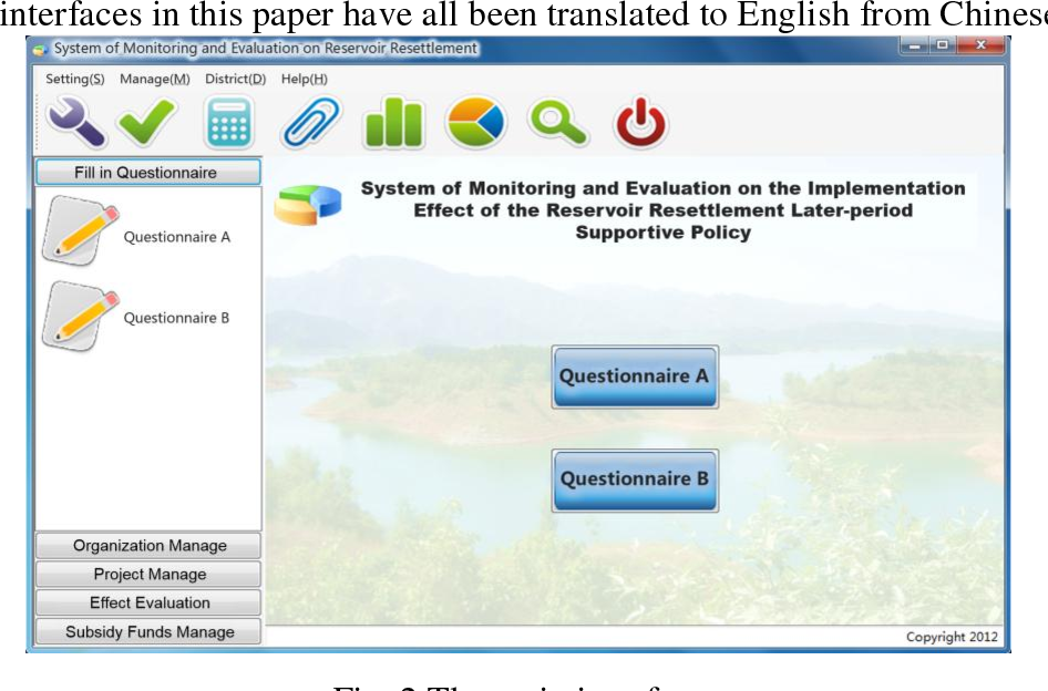 Pdf The Design Of The Monitoring And Evaluation System Of The Reservoir Resettlement Later Period Supportive Policy S Implementation Effect Semantic Scholar