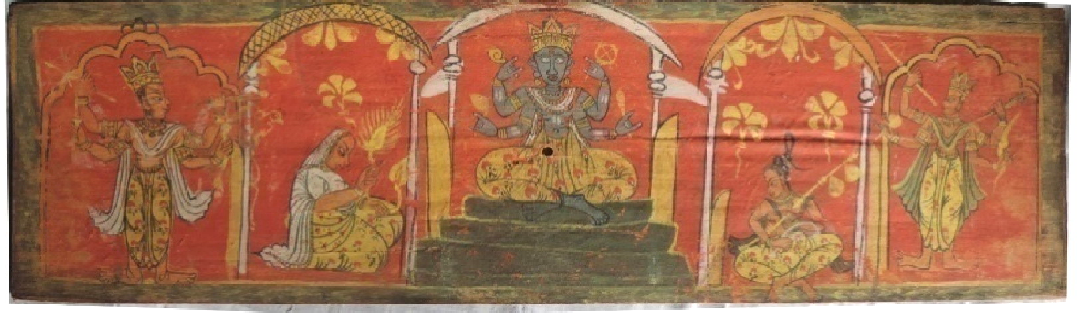 PDF] The Art of Traditional Painting in Assam: a Critical Study on the Manuscript  Paintings of Bhagavata-Purana, VI-VII | Semantic Scholar