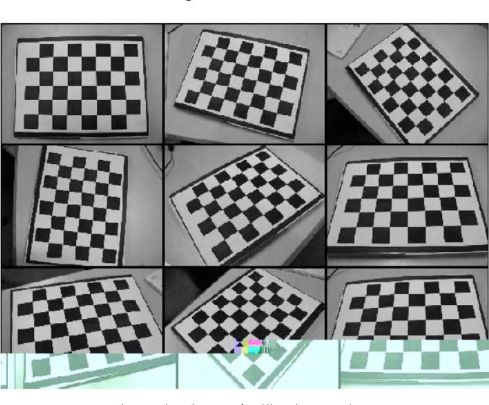 A camera calibration technique based on OpenCV - Semantic
