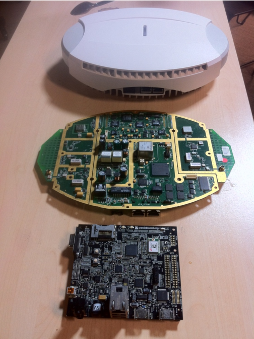 Figure 4 from AirGSM: An unmanned, flying GSM cellular base
