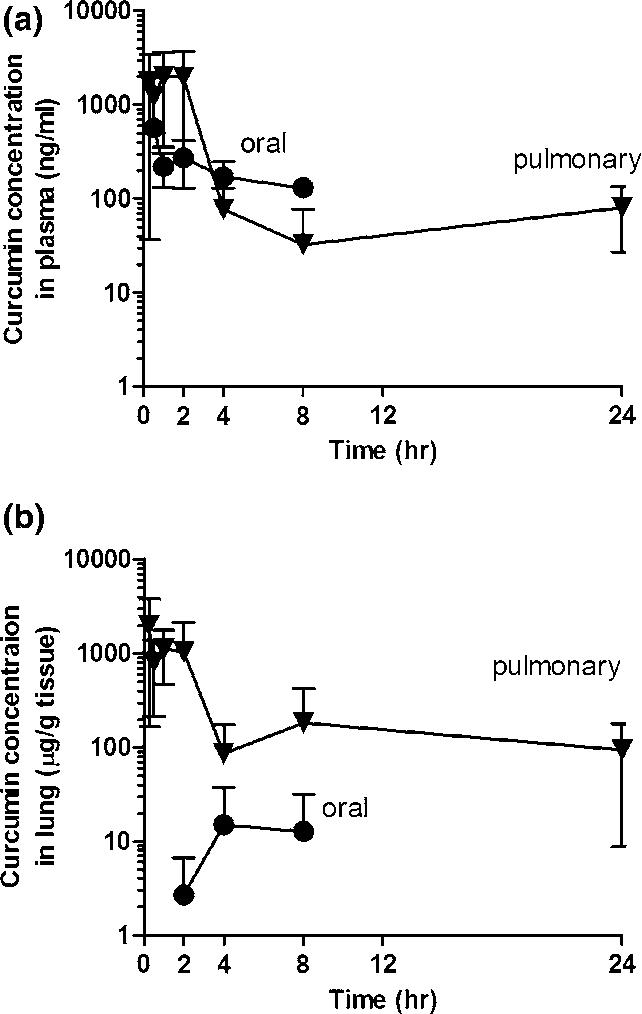 The in vivo antitumor activity of CUR loaded ALN-HA-C 18