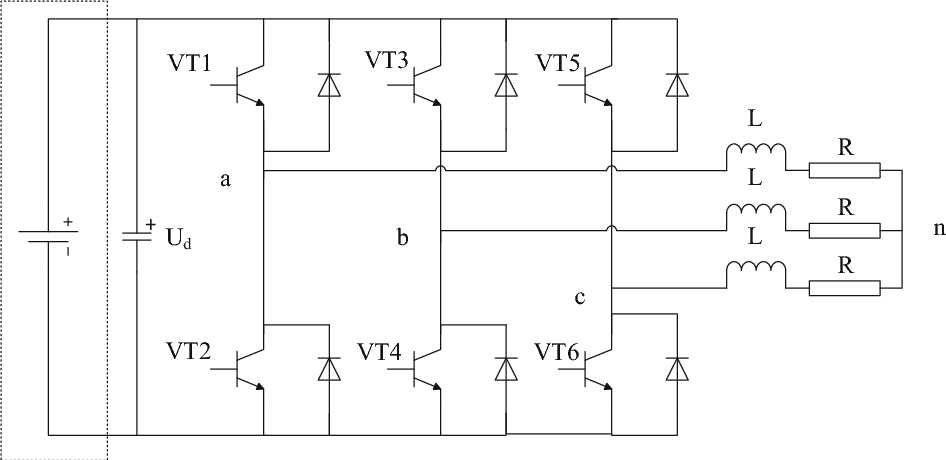 Open-circuit fault detection for three-phase inverter based