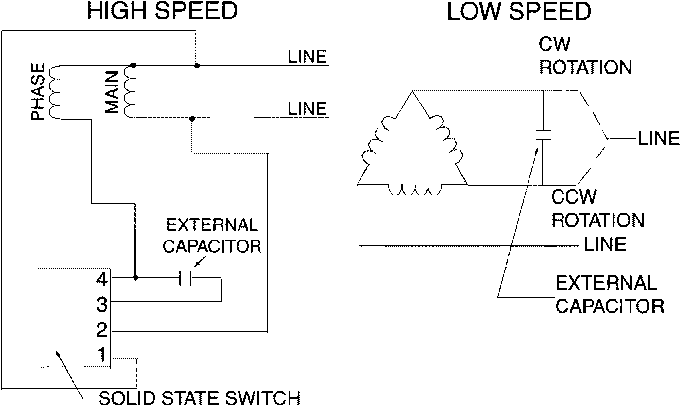single phase 3 speed motor wiring diagram figure 1 from analysis and design of a two speed single phase  single phase