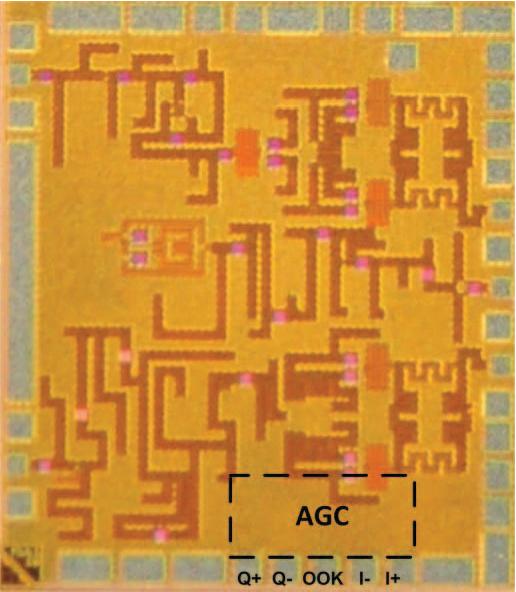 Embedded baseband IQ AGC and OOK demodulator in CMOS 45nm